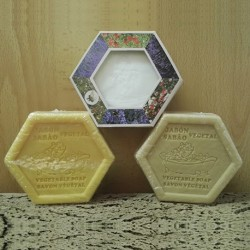 JABON HEXAGONAL
